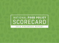 NYC Food by the Numbers: New York's Food Policy Scorecard
