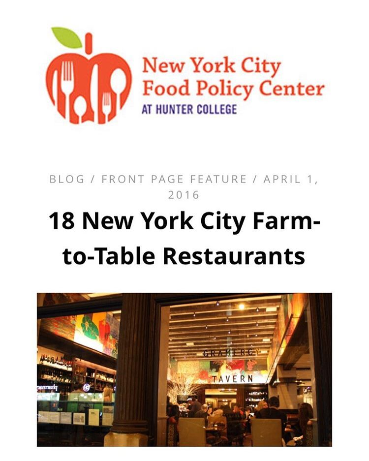Read our article about 18 NYC farmtotable restaurants working tohellip