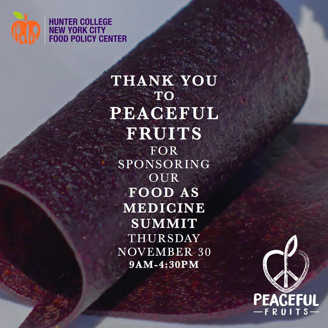 Peaceful Fruits will be giving out their products FOR FREEhellip