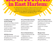 2014 Summer Meals in Manhattan