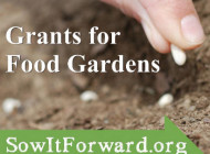 Grants for Food Gardens