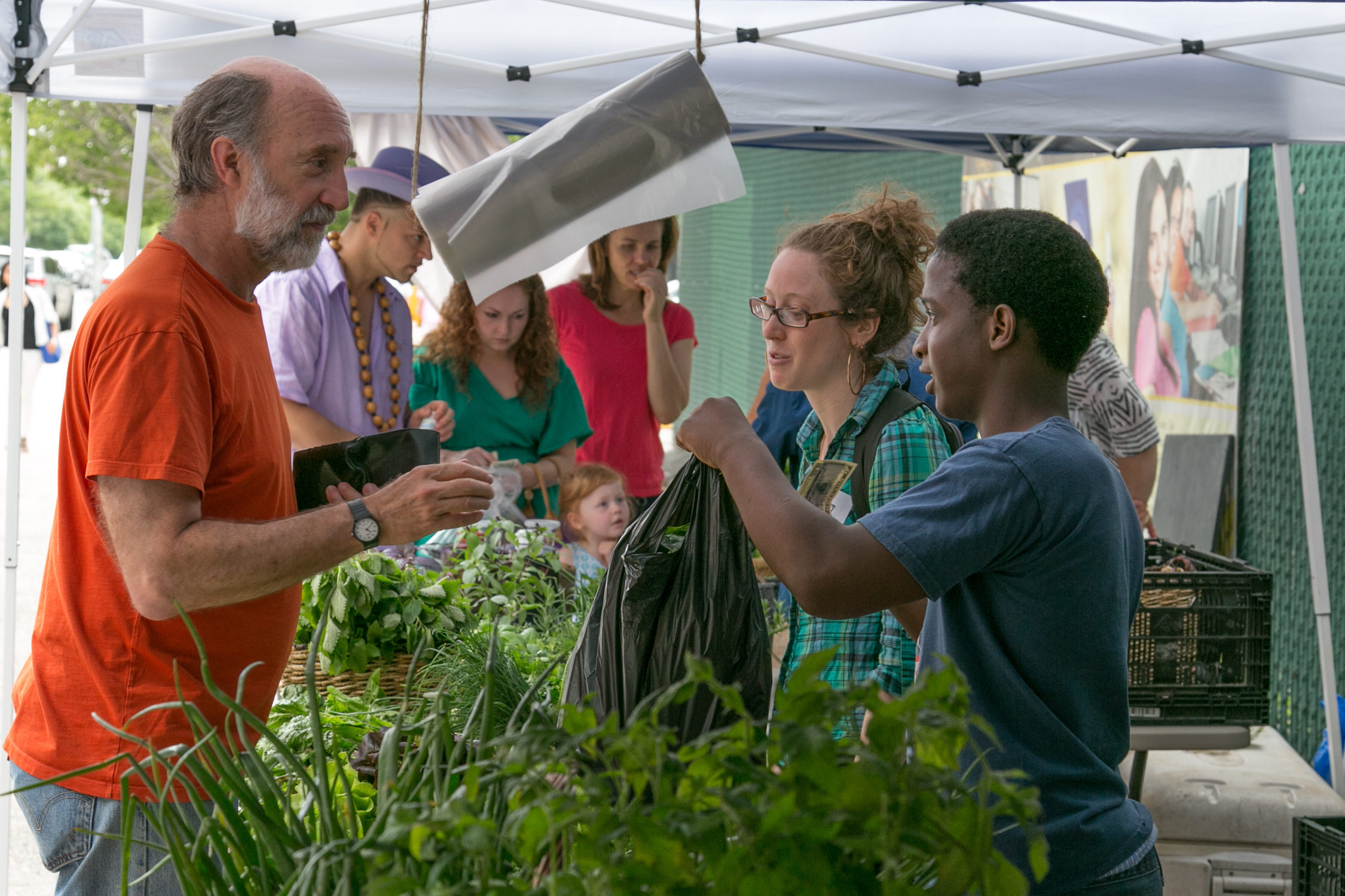 South Bronx Farmers' Market: NYC Food Based Community
