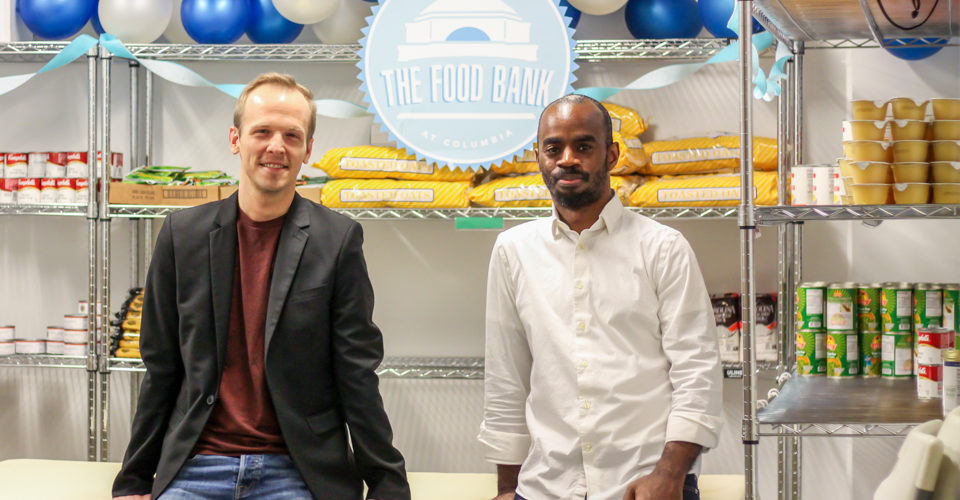 The Food Bank at Columbia Serves University Students in