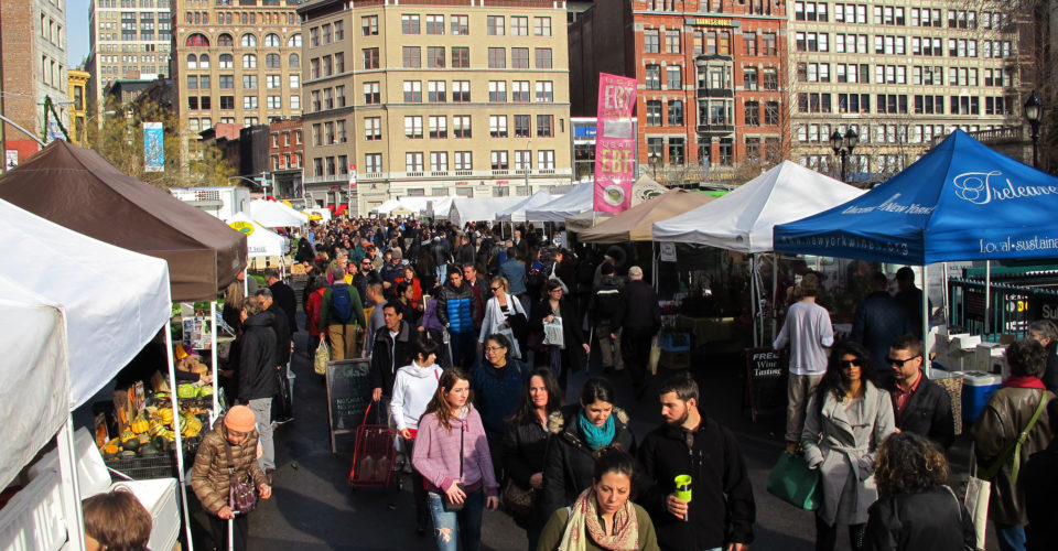 GrowNYC's Greenmarket Program Ensures New Yorkers Have