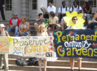The New York City Community Garden Coalition Is Dedicated to the Preservation, Creation and Empowerment of Community Gardens