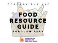 Coronavirus NYC Food Resource Guide: Borough Park