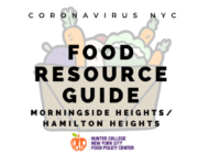 Coronavirus NYC Food Resource Guide: Morningside Heights/Hamilton Heights