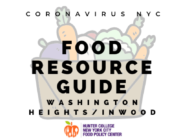 Coronavirus NYC Food Resource Guide: Washington Heights/Inwood