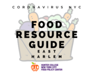 Coronavirus NYC Food Resource Guide: East Harlem