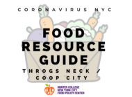 Coronavirus NYC Food Resource Guide: Throgs Neck/Coop City