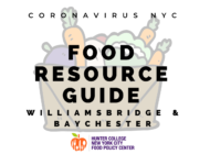 Coronavirus NYC Food Resource Guide: Williamsbridge/Baychester