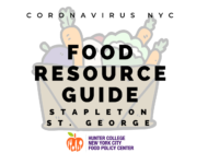 Coronavirus NYC Food Resource Guide: Stapleton/St. George