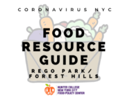 Coronavirus NYC Food Resource Guide: Rego Park and Forest Hills