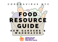 Coronavirus NYC Food Resource Guide: Kew Gardens/Woodhaven