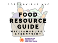 Coronavirus NYC Food Resource Guide: Williamsburg and Greenpoint