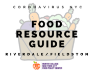 Coronavirus NYC Food Resource Guide: Riverdale and Fieldston