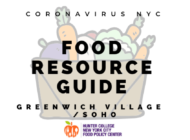 Coronavirus NYC Food Resource Guide: Greenwich Village and Soho