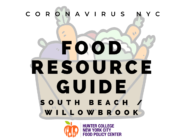 Coronavirus NYC Food Resource Guide: South Beach/Willowbrook