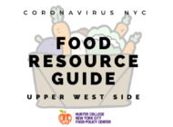Coronavirus NYC Food Resource Guide: Upper West Side