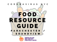 Coronavirus NYC Food Resource Guide: Parkchester and Soundview