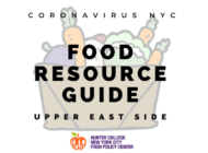 Coronavirus NYC Food Resource Guide: Upper East Side