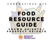 Coronavirus NYC Food Resource Guide: Crown Heights/Prospect Heights