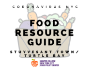 Coronavirus NYC Food Resource Guide: Stuyvesant Town/Turtle Bay